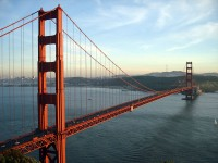 De Golden Gate brug in San Francisco / Bron: Rich Niewiroski Jr., Wikimedia Commons (CC BY-2.5)