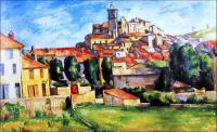 Gardanne / Bron: Paul Cézanne, Wikimedia Commons (Publiek domein)