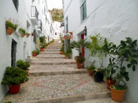 Straatje in Frigiliana