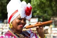 Dame met Havana-sigaar / Bron: Ba Su, Pixabay